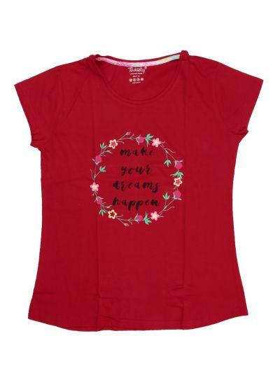 Women's Cotton Printed Nightwear/Night Suit - NKD4302649