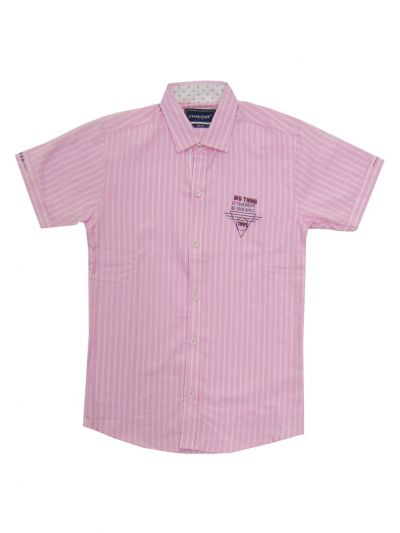 Branded Boys Shirt With T Shirt (MDU) - NFE5883370