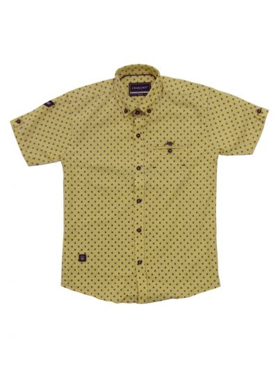 Boys Branded Shirt With T-Shirt (MDU) - NGD2514088