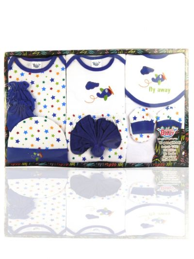 Infant Essentials Cotton Cloths Gift Set-10 - MDA1115382