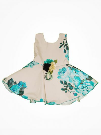 MJB7279921 - Girls Fancy Synthetic Frock
