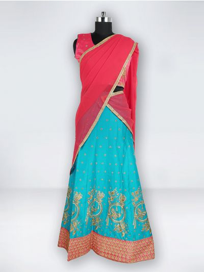 NCC0302405 - Girls Ready Made Fancy Lehenga
