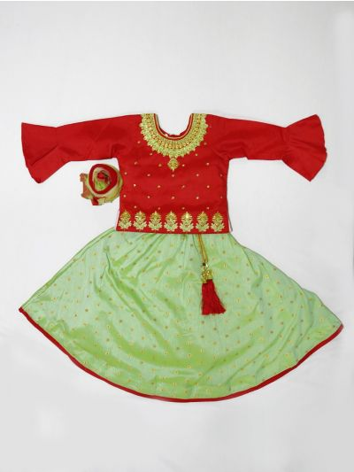 MJA6577706 - Girls Ready Made Fancy  Choli