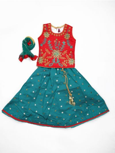MJA6577798 - Girls Ready Made Fancy  Choli