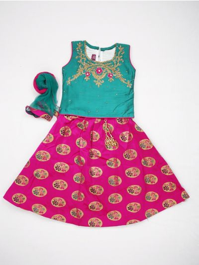 MJA6577843 - Girls Ready Made Fancy  Choli