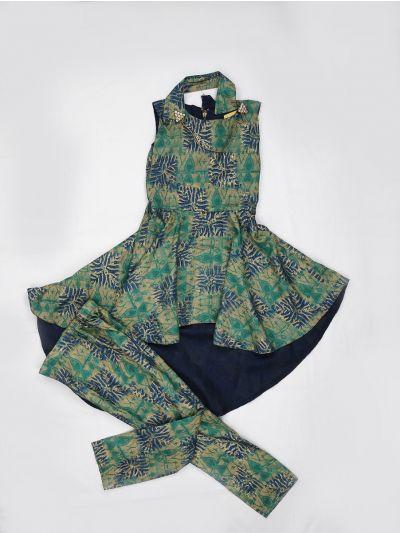 MCB8781485 - Girls Fancy Printed Western Frock