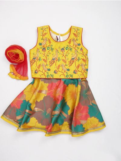 MJA6593404 - Girls Ready Made Fancy  Choli