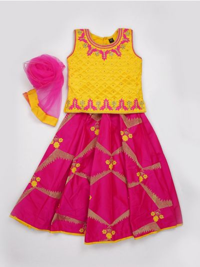 MJC7435323 - Girls Ready Made Fancy  Choli