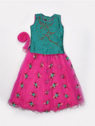 MJC7435384 - Girls Ready Made Fancy  Choli