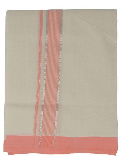 KKV Men's Cotton Dhoti - EKM - NJA9702454