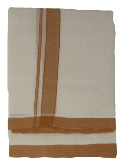 KKV Men's Cotton Dhoti - EKM - NJA9702470