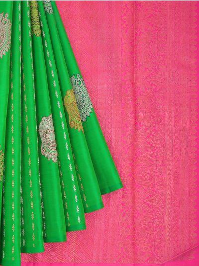 MID5177580-Vivaha Wedding Pure Silk Saree