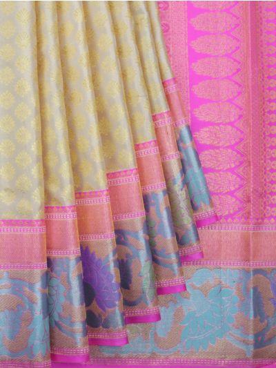MKB9033737 - Exclusive Vivaha Bridal Kanchipuram Silk Saree