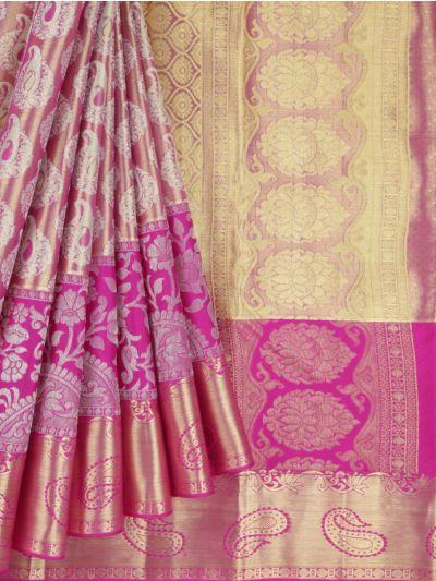 MKC9897815-Vivaha Wedding Kanchipuram Pure Silk Saree