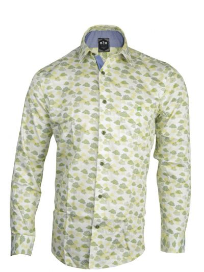 ZF Men's Readymade Casual Cotton Shirt - MKB9169359