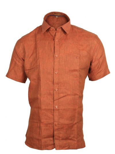 Zulus Festin Men's Readymade Formal Linen Shirt - MGC0302984