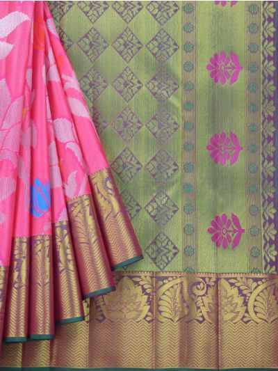 MKB9033745-Vivaha Exclusive Bridal Pure Kanchipuram Silk Saree