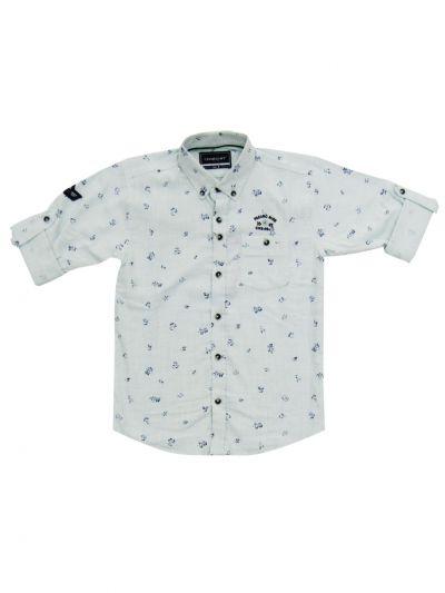 Boys Branded Shirt With T-Shirt (MDU) - NGA7817248