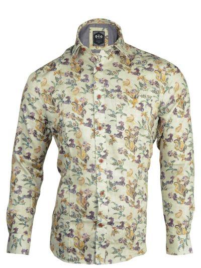 ZF Men's Readymade Casual Cotton Shirt - MLA0423429