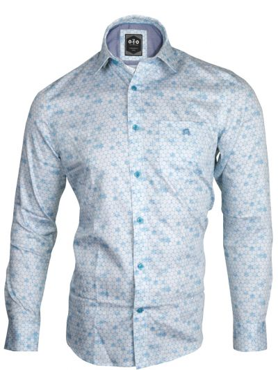 ZF Men's Readymade Casual Cotton Shirt - MLA0423471