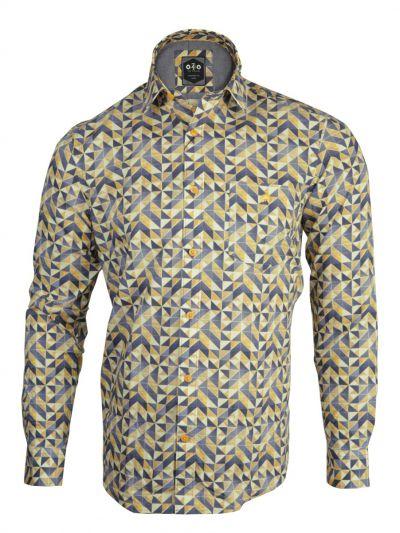 ZF Men's Readymade Casual Cotton Shirt - MLA0423474