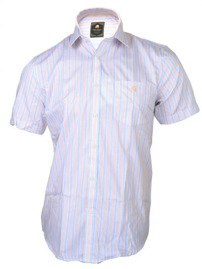 Zulus Festin Men's Cotton Half Sleeve Formal  Shirt - MFB2361265
