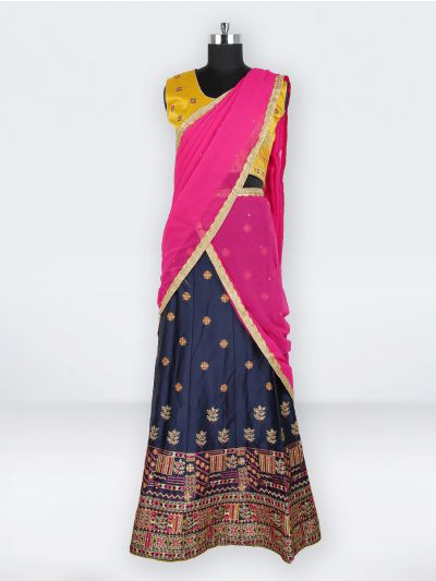 NCC0302414 - Girls Ready Made Fancy Lehenga