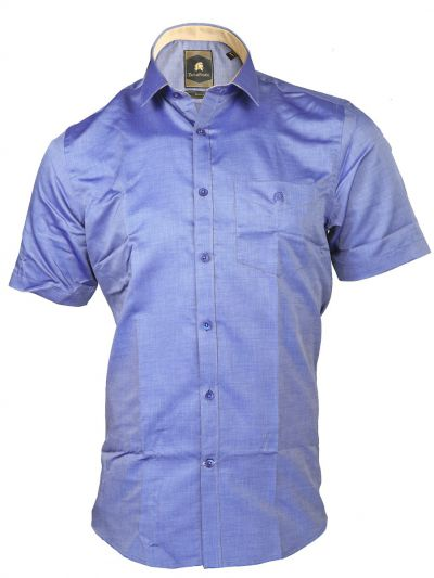 Zulus Festin Men's Cotton Formal Half Sleeve Shirt - MGA7454793