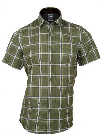 ZF Men's Cotton Casual Half Sleeve Shirt - MGA8025823