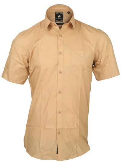 Zulus Festin Men's Cotton Formal Half Sleeve Shirt - MGA8040612