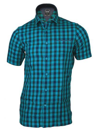 ZF Men's Cotton Casual Half Sleeve Shirt - MGA8046770