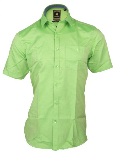 Zulus Festin Men's Cotton Formal Half Sleeve Shirt - MGA7454775