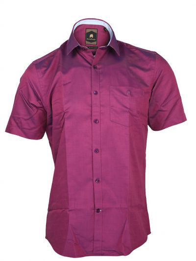 Zulus Festin Men's Cotton Formal Half Sleeve Shirt - MGA7454781