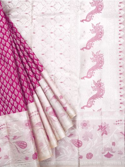 MKB9033744-Vivaha Exclusive Wedding Pure Silk Saree
