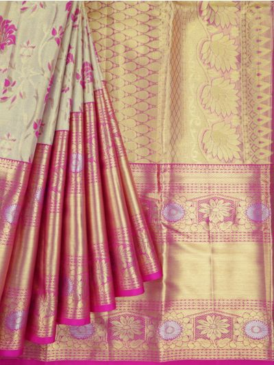MKC9897821- Vivaha Kanchipuram Wedding Silk Saree