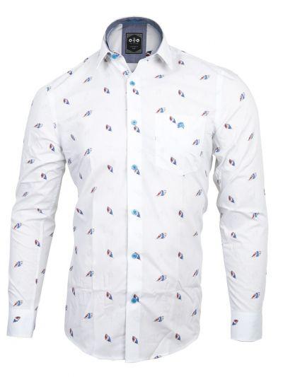 ZF Men's Readymade Casual Cotton Shirt - MLA0768775