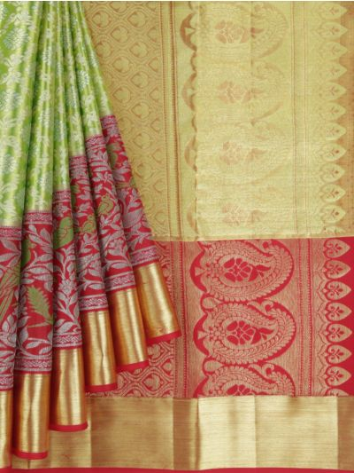MKC9897826-Vivaha Wedding Kanchipuram Pure Silk Saree