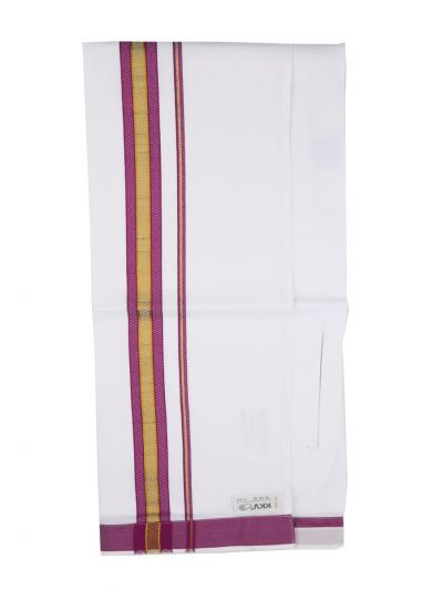 KKV Velcro Men Cotton Dhoti - NJA8913547