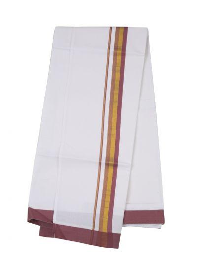 KKV Velcro Men Cotton Dhoti - NJA8913571