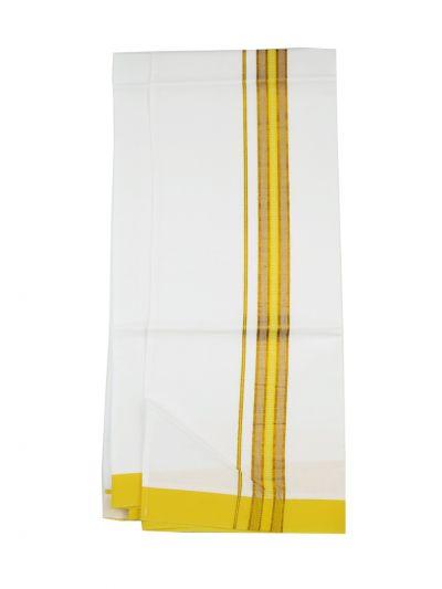 KKV Velcro Men Cotton Dhoti - NJA8913536