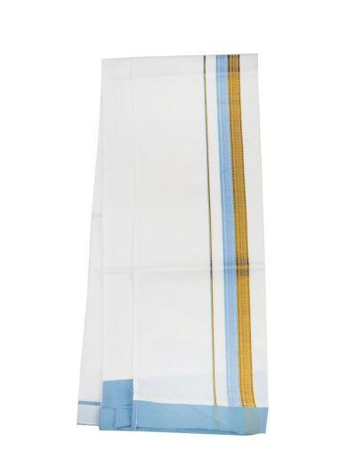 KKV Velcro Men Cotton Dhoti - NJA8913565