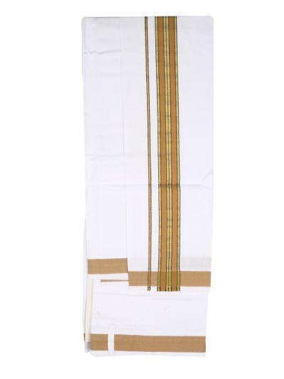 KKV Velcro Men Cotton Dhoti - NGD2813239