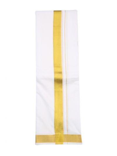 KKV Men's Pure Cotton Dhoti - NEB1808780