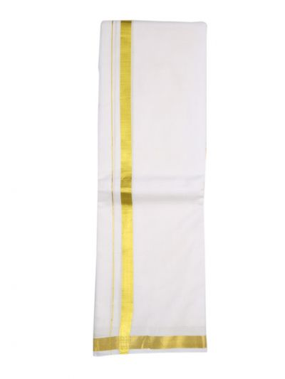 KKV Men's Pure Cotton Dhoti - NEB1808788