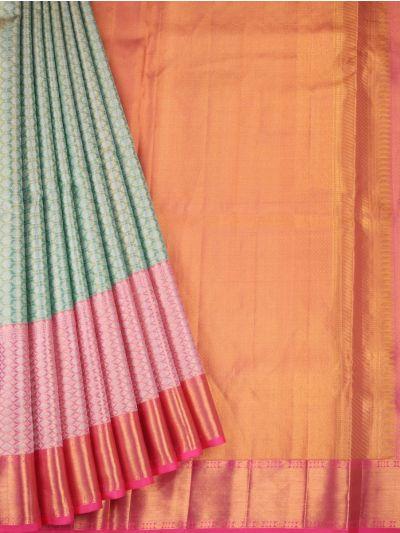 Vivaha Wedding Pure Kanchipuram Silk Saree - NGD1496432