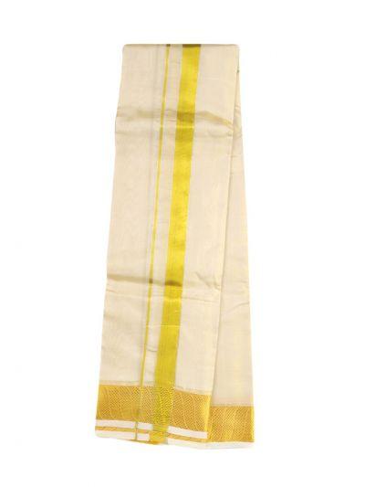 Vivaha Fancy Border Silk Dhoti and Angavastram - OAD2035758