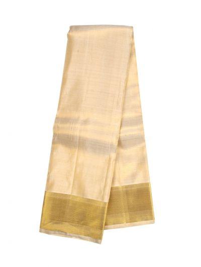 Vivaha Fancy Border Silk Dhoti and Angavastram - NLA5049472