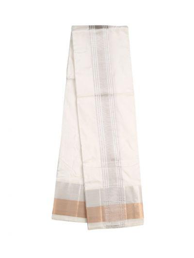 Vivaha Fancy Border Silk Dhoti - NLA4916645