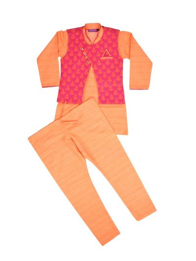 Boys Branded Sherwani Set - MKC9683215