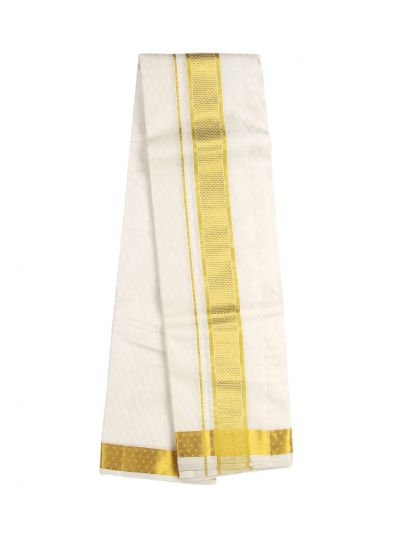 Vivaha Fancy Border Silk Dhoti and Angavastram - OAD2035757